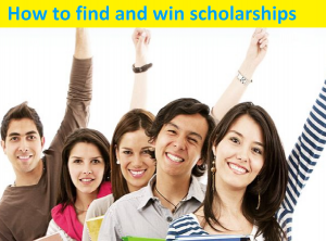how to find and win scholarships